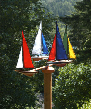 Free Sailboat whirligig plans | Sam Boat