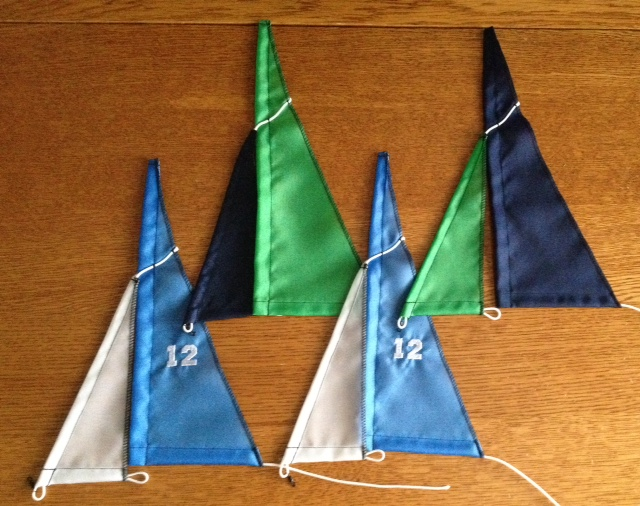 12th Man sails for 12 Meter style
